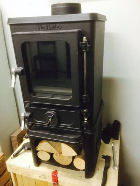 Stoves for shepherds huts smaller spaces mystove wood burning stoves - Wood burning stoves for small spaces gallery ...