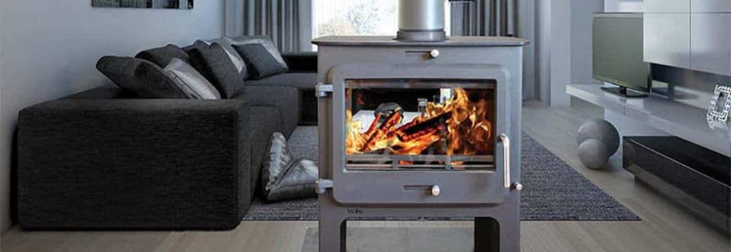 Ekol Clarity double sided 5-14Kw multi fuel stove