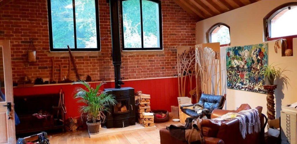 ECCO wood burning stove & masonry heater
