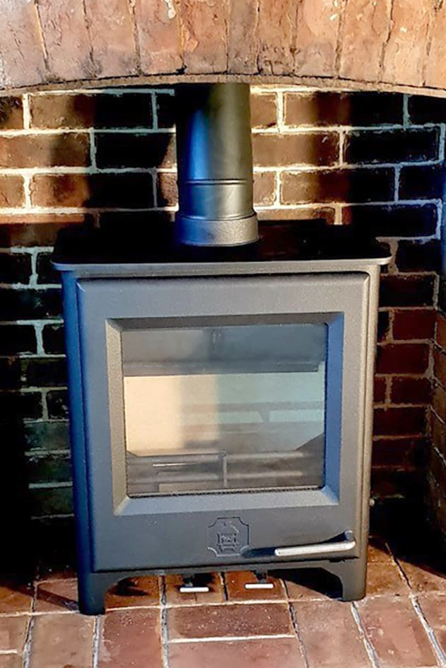 woodwarm woodburing stove