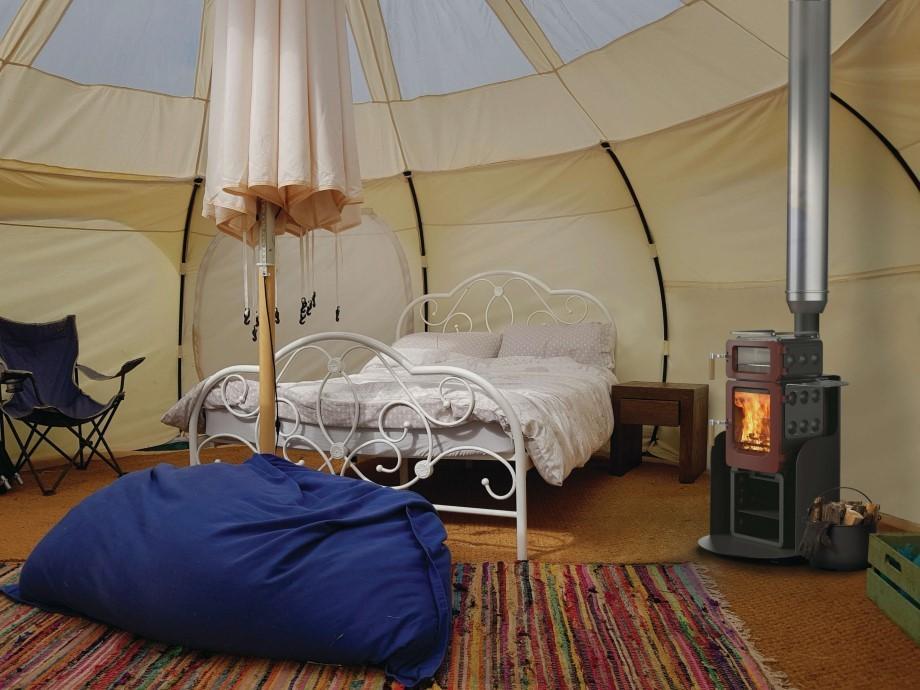 apple pie glamping yurt